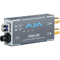 AJA FiDO-2R SDI/Optical Fiber Mini-Converter