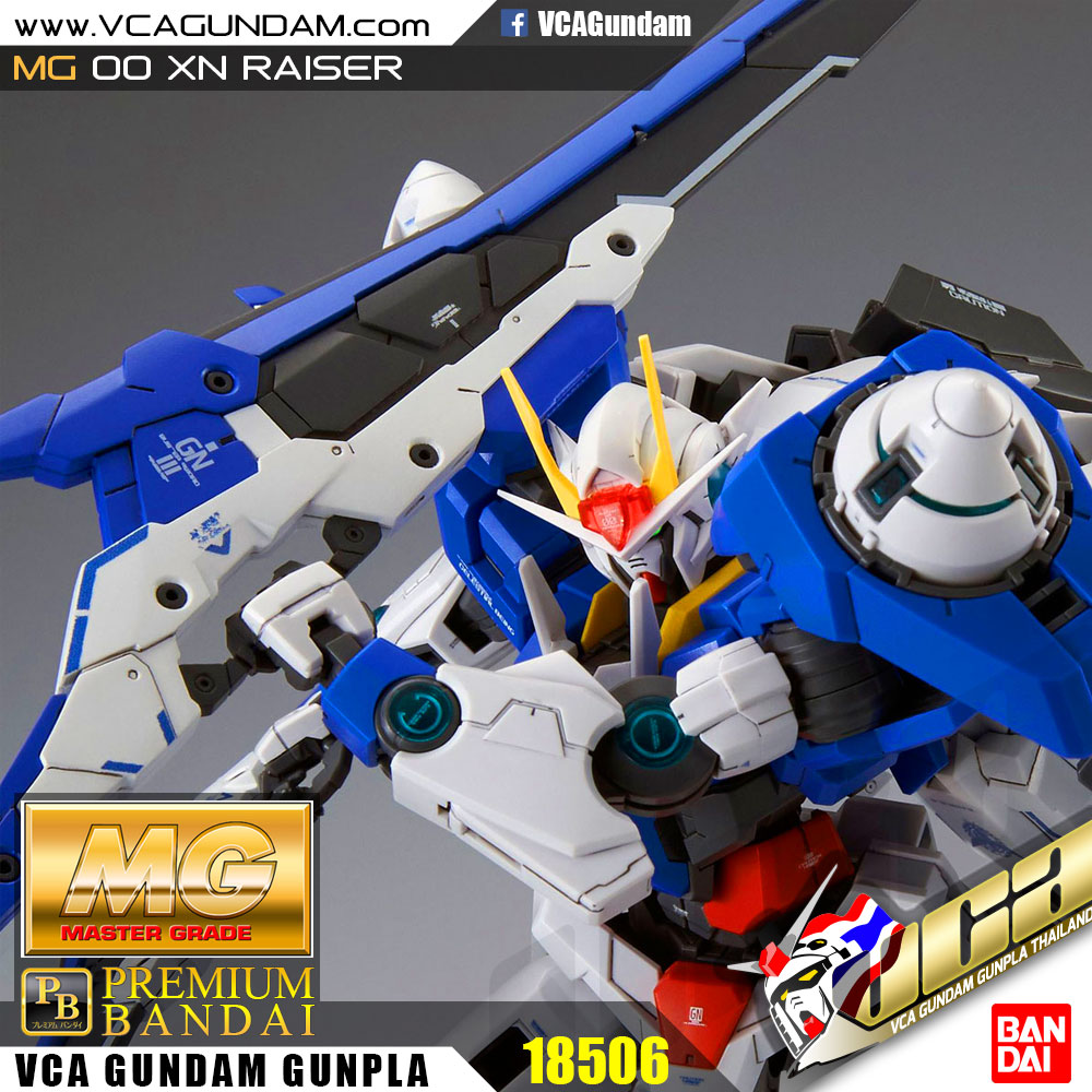 *P-BANDAI LIMITED* MG 00 XN RAISER 00 XN ไรเซอร์