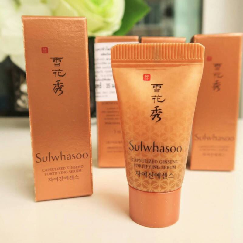 Sulwhasoo Capsulized Ginseng Fortifying Serum 5 ml.