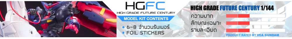 What is HGFC กันดั้ม กันพลา คืออะไร?
