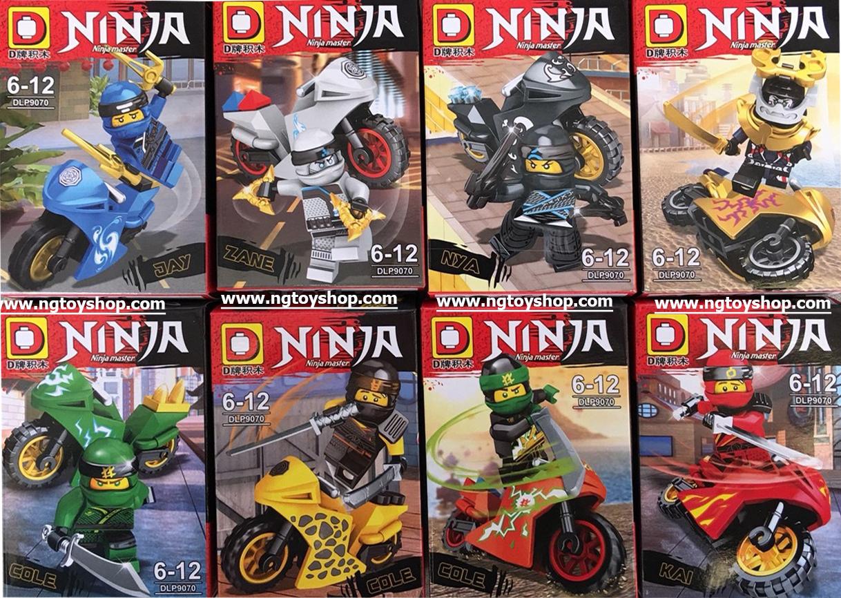 มินิฟิกเกอร์ DLP9070 ชุด Ninja Go 8 กล่อง