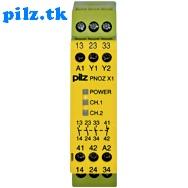 PilZ 774300 PNOZ X1 24VAC/DC 3n/o 1n/c LiNE iD : PILZ.TK