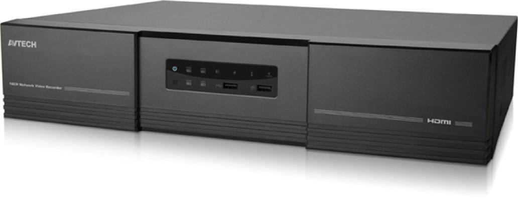 เครื่องบันทึก IP 2.0MP NVR สำหรับกล้อง IP AVTECH รุ่น AVH516