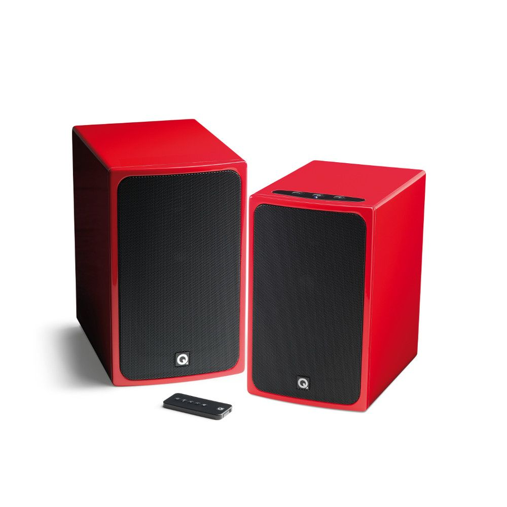Q Acoustics BT3 Wireless Active Bookshelf Speakers
