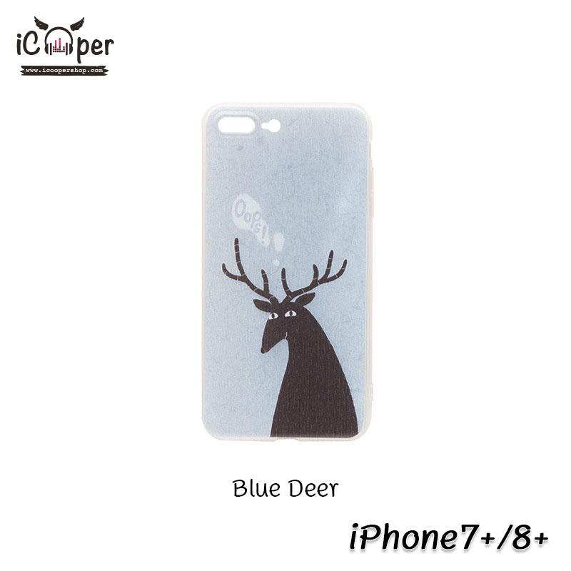 MAOXIN Island Case - Blue Deer (iPhone7+/8+)