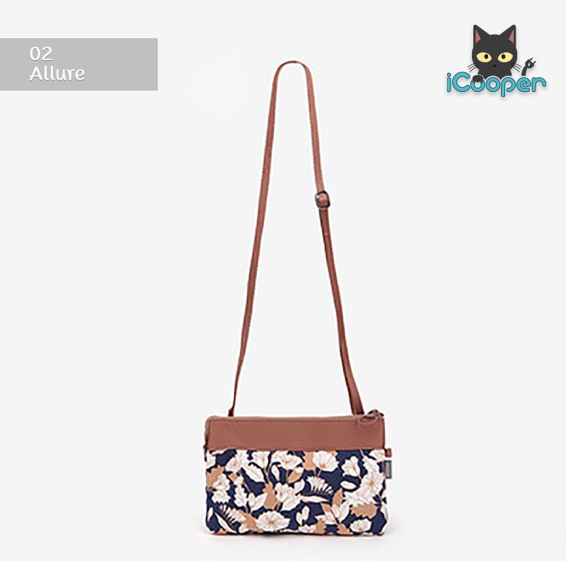 RONG.SHI.DAI Double Cross Bag (Allure)