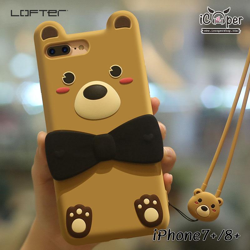 LOFTER Love Bear - Light Brown (iPhone6+/6s+)