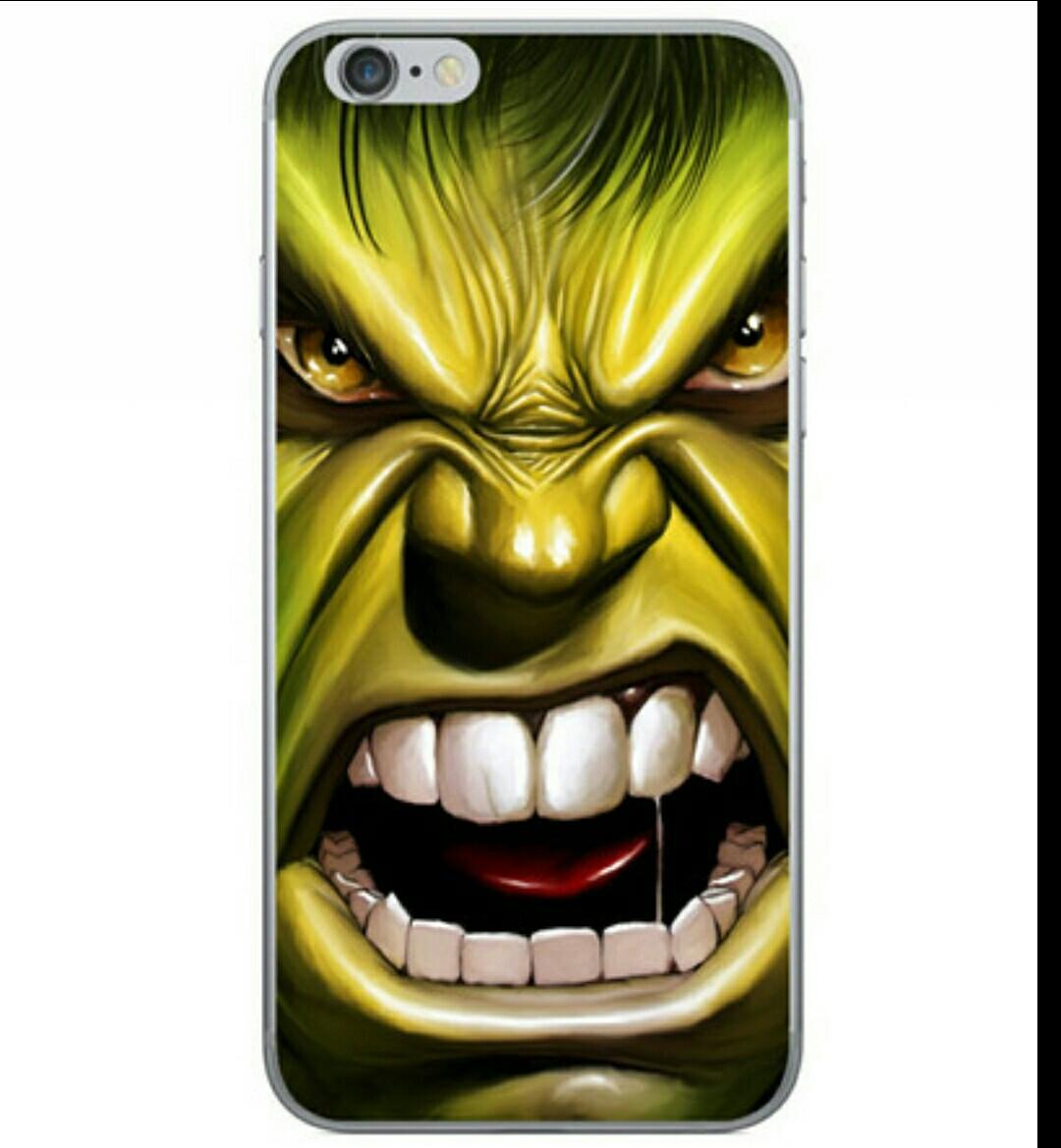 เคสไอโฟน 6/6s ลายใบหน้า the hulk เคสpcแข็ง