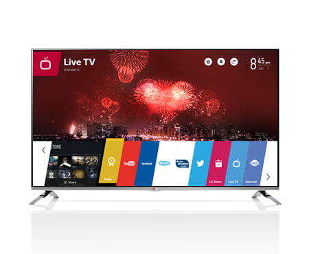 TV LG LED ขนาด47นิ้ว รุ่น 47LB670T
