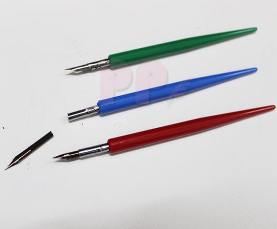 ด้ามและหัวปากกา Fine Nib + Tube Nib Holder (เลือกสี)