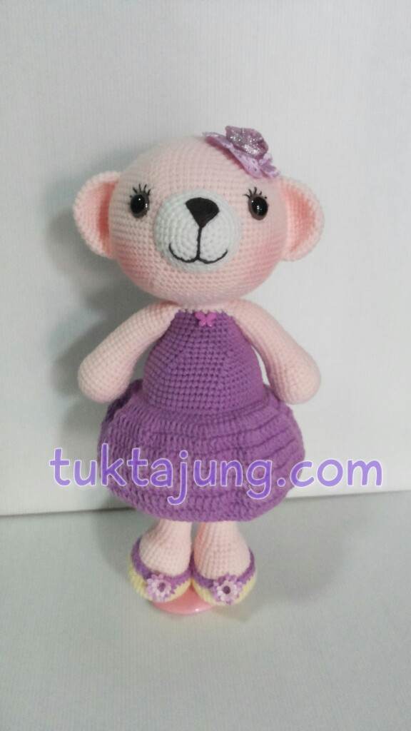 ตุ๊กตาหมีถักโครเชต์
