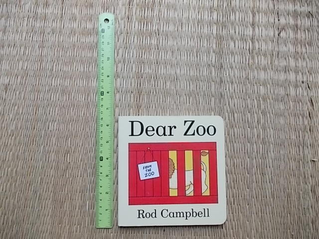 Dear Zoo Board Board 18 Pages ราคา 100