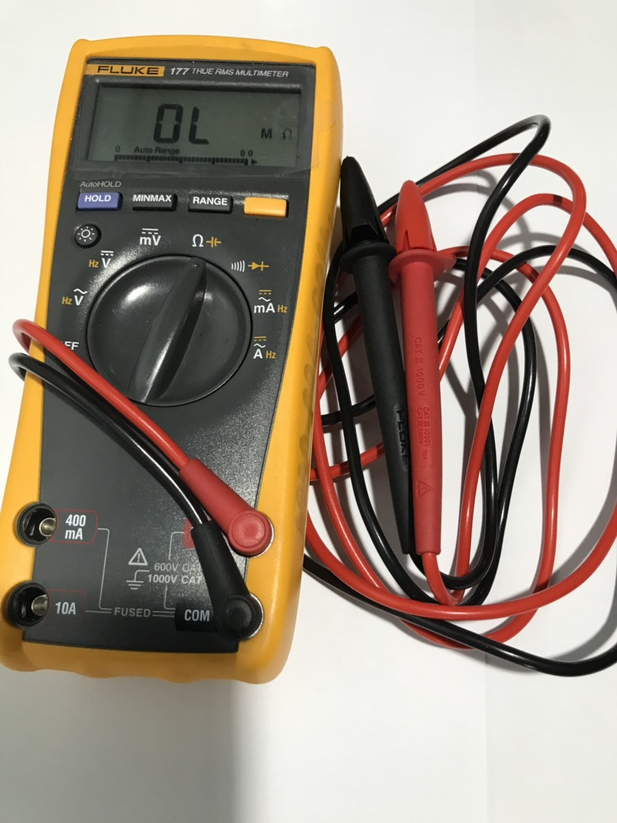 Multimeter Digital FLUKE 177 (USA) (มือสอง)