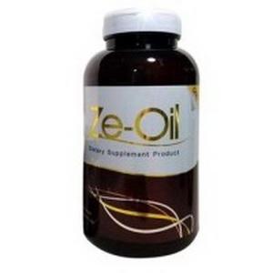 ซีออยล์ โกล์ด น้ำมันสกัดเย็น 4 ชนิด ( Ze Oil GOLD ) (300 แคปซูล) กระปุกใหญ่