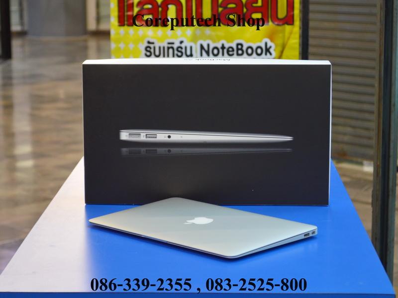 "MacBook Air 11"" Core i5 1.6 GHz.SSD 128GB Mid 2011 สภาพสวยกริ๊บๆ อุปกรณ์ครบกล่อง จัดไป 16,900 บาท"