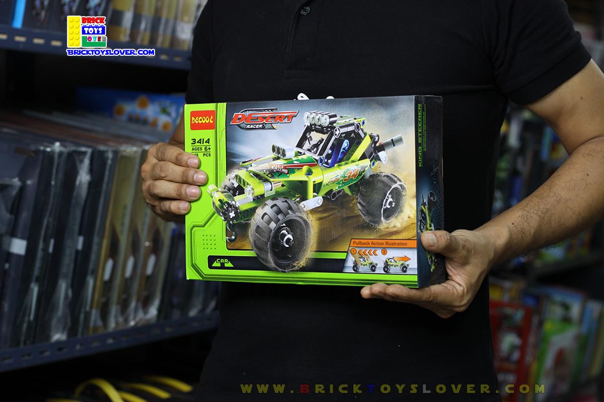 3414 ตัวต่อ King Steerer รถแข่งลุยทะเลทราย Desert Racer