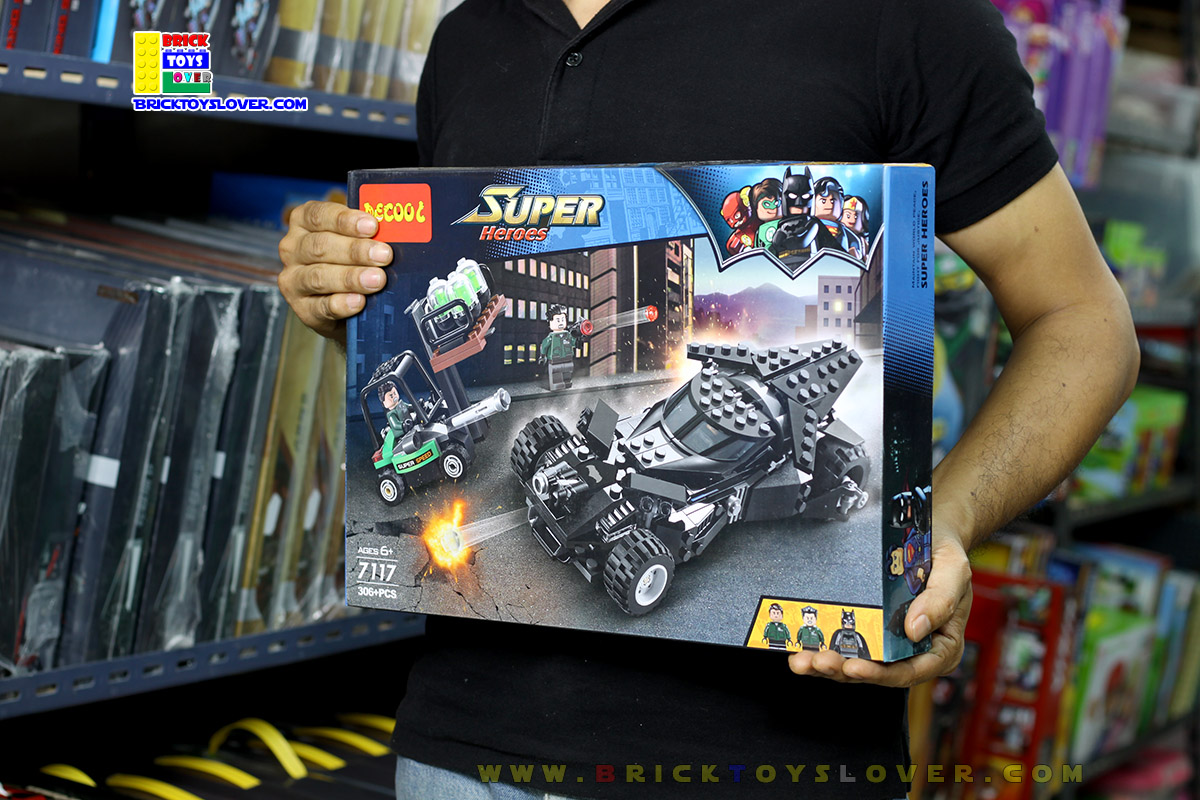 7117 Batman Kryptonite Interception ภารกิจสกัดกั้นการลักลอบขนคริปโตไนท์
