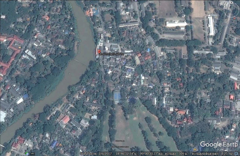 ที่ดินติดแม่น้ำปิง 1 ไร่กว่า ตัวเมืองเชียงใหม่&#x2605 Land on the Ping River 1 Rai over Muang Chiang Mai. &#x2605