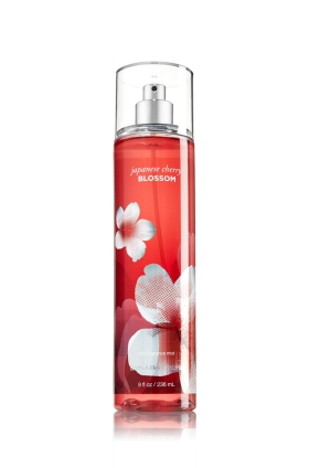 Bath&Body works fine fragrance mist Japanese Cherry Blossom ขวดใหญ่ 8 oz (236 ml) หอมมากๆค่ะ