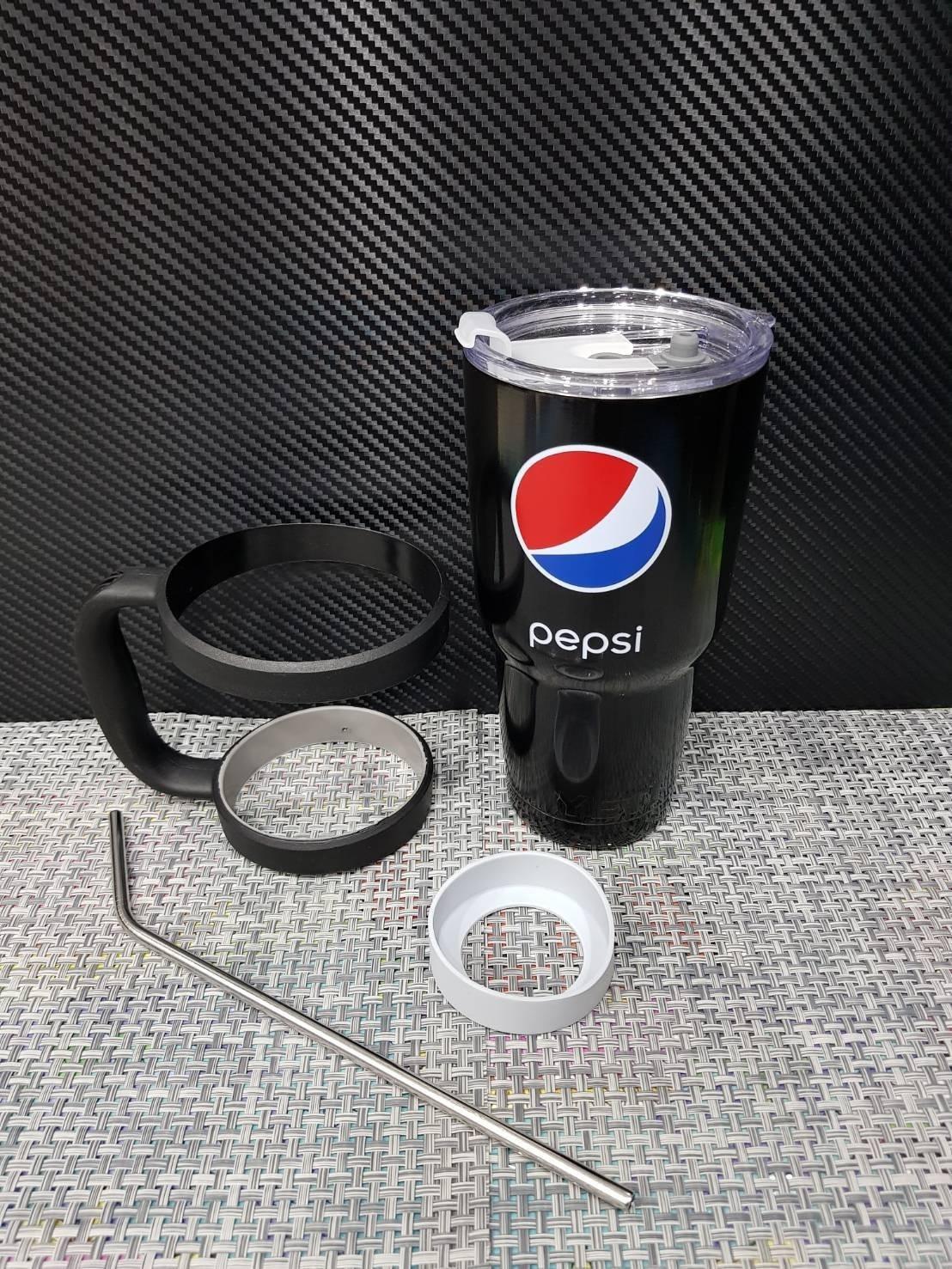 ชุดแก้วเยติ 30 ออนซ์ พื้นสีดำ โลโก้ pepsi
