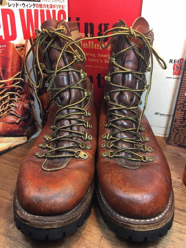 2.Vintage Herman Survivor hunting work boot size 9
