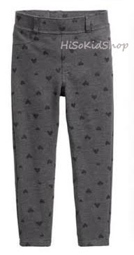 1682 H&M Treggings - Dark Grey ขนาด 7-8,8-9 ปี
