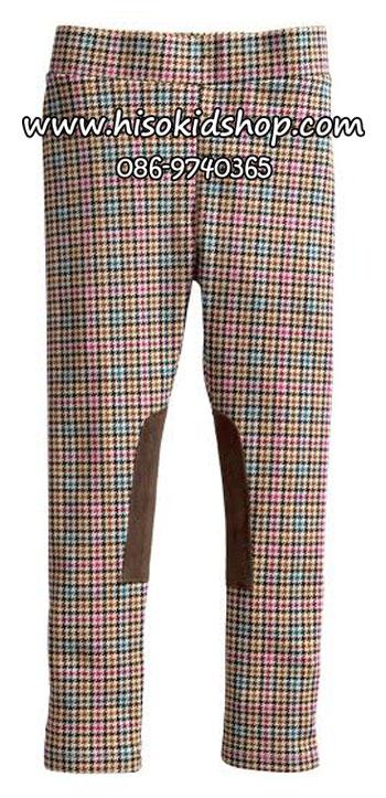 1068 H&M Legging - ฺBrown/Pink ขนาด 3-4 ปี