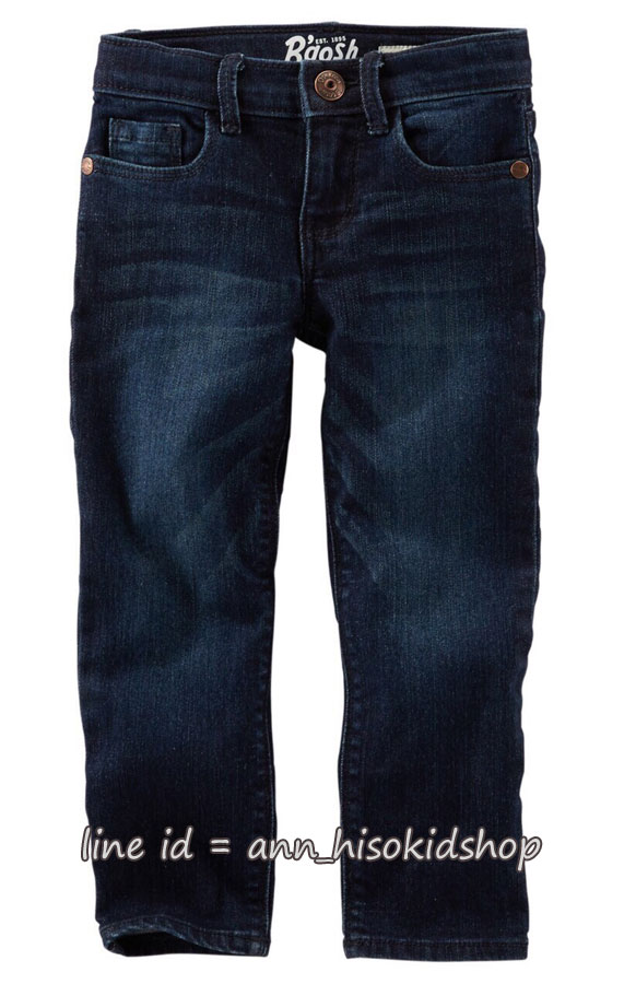 1991 Oshkosh B'gosh Skinny Jeans - Dark Blue ขนาด 10 ปี