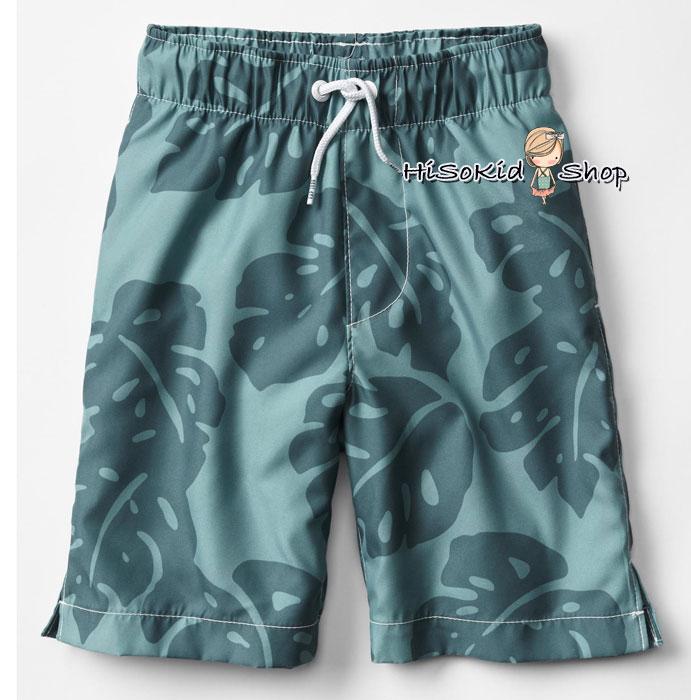 1029 Gap Kids Boys Swim Trunks - Green ขนาด 10 ปี