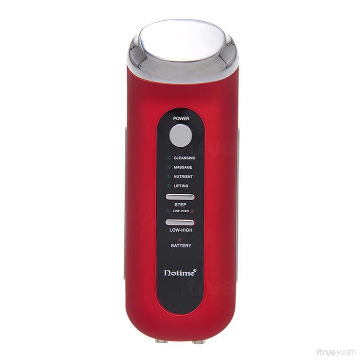 เครื่องนวดหน้า NO TIME Intelligent Negative Ion Facial Spa สีแดง
