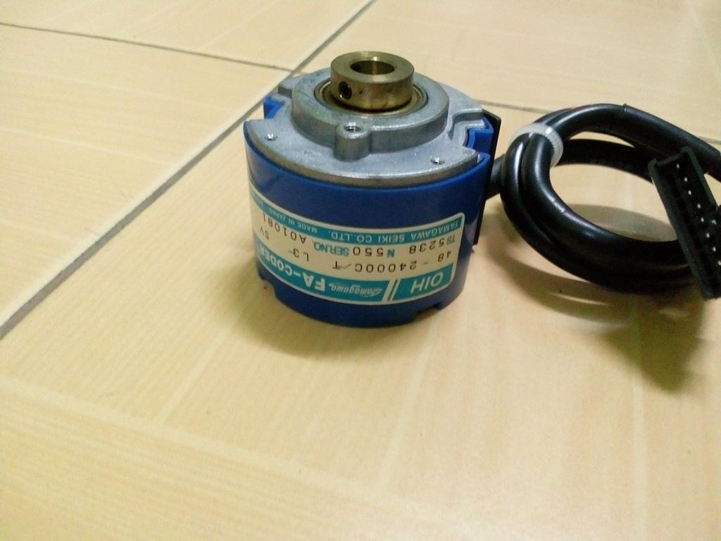 Rotary Encoder 24,000P/R สินค้ามือ 2