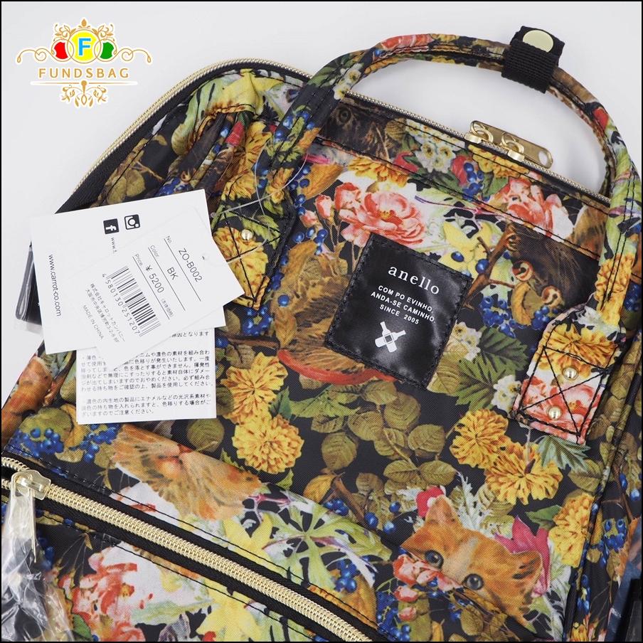 กระเป๋าเป้สะพายหลัง Legato Largo X anello -สีดำ-