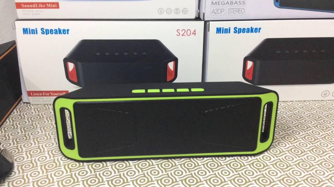 ลำโพงบลูทูธพกพา Music Wireless Speaker รุ่น A2DP