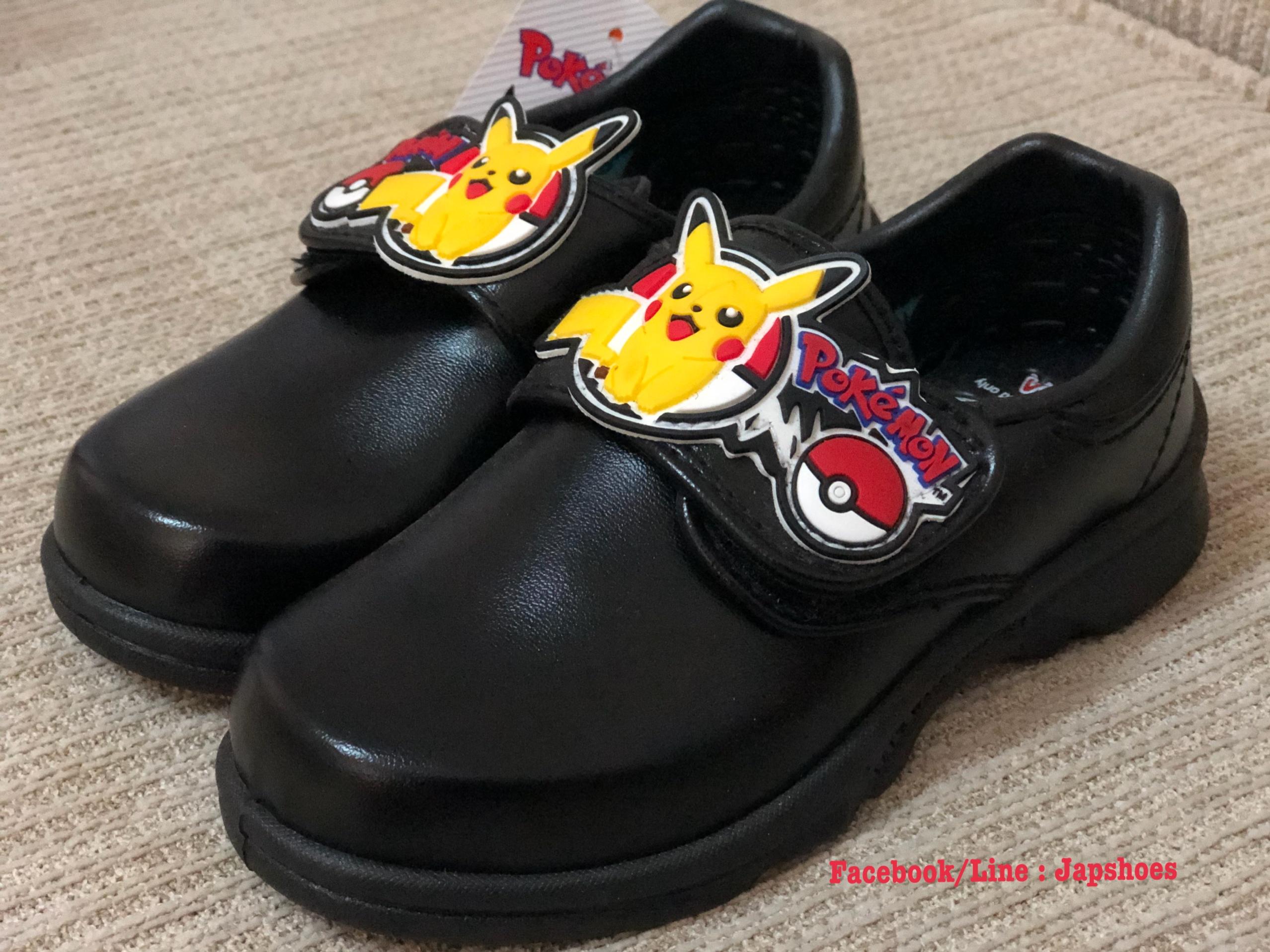 รองเท้านักเรียนชายโปเกมอน (adda)