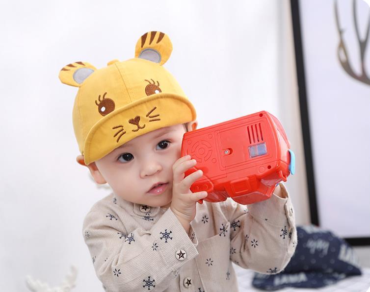 หมวก สีเหลือง แพ็ค 5ใบ ไซส์รอบศรีษะ 48-50cm