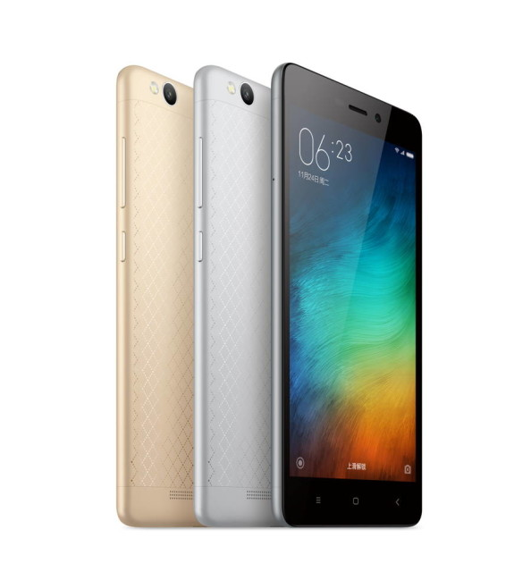 Xiaomi Redmi 3 จอ 5 นิ้ว (แถมเคส )