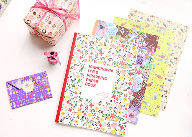 Scandinavia Style Wrapping Paper Book Vol.2