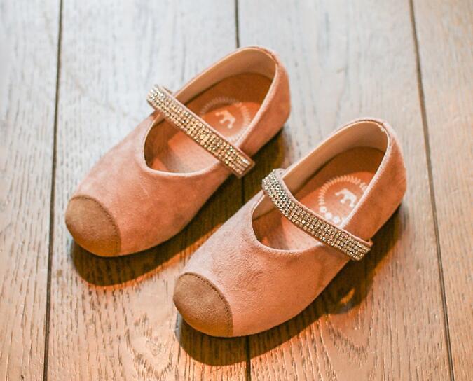 รองเท้าเด็กแฟชั่น สีชมพู แพ็ค 5 คู่ ไซต์ 21-22-23-24-25