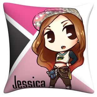 หมอน Jessica - fanart