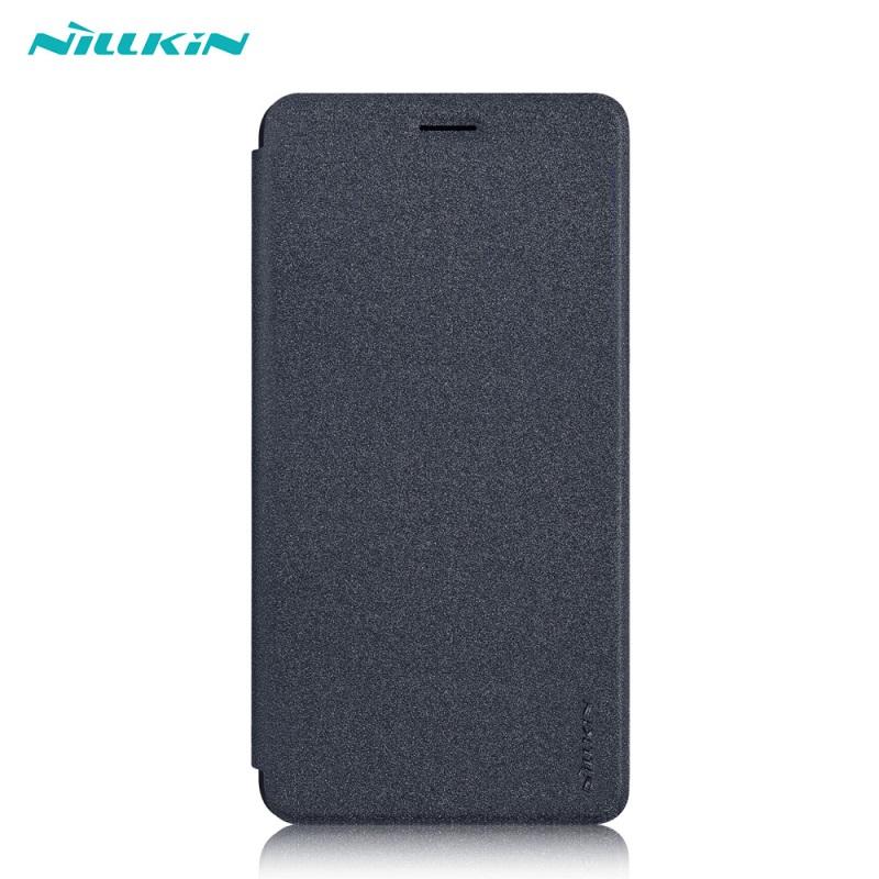 เคส Xiaomi Mi Max 2 Nillkin Sparkle Leather Case- BLACK