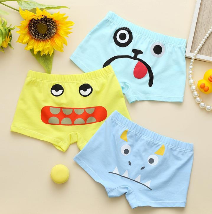กางเกงในเด็ก คละสี แพ็ค 20 ตัว ไซส์ L