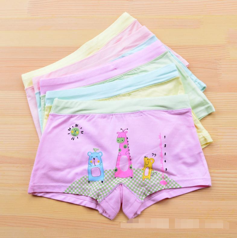 กางเกงในเด็ก คละสี แพ็ค 20 ตัว ไซส์ M อายุ 2-3 ปี