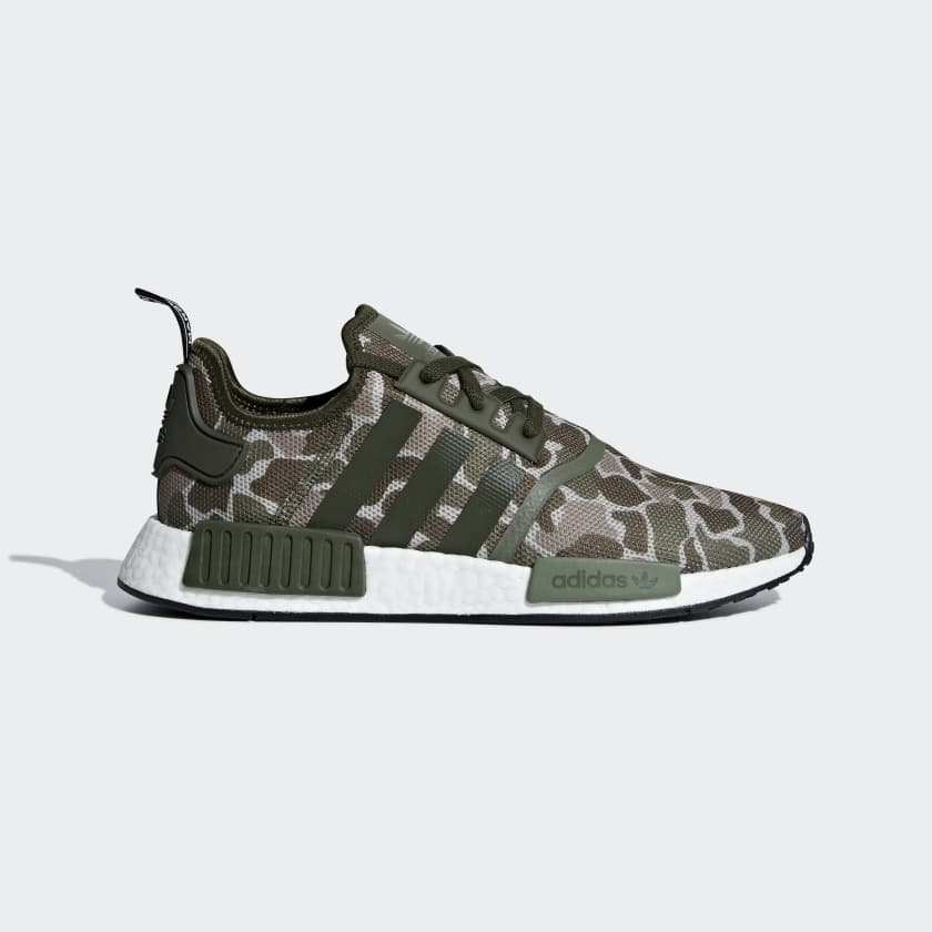 Adidas Originals NMD R1 Color SESAME / TRACE CARGO / BASE GREEN