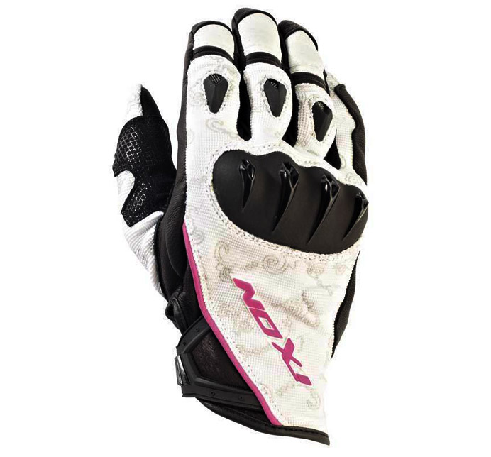 IXON RS TATOO VX LADY HP - BLACK/WHITE/PINK
