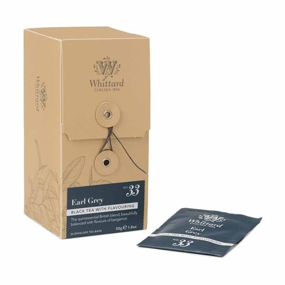 WTB33- Earl Gray - 25 tea bags/กล่อง