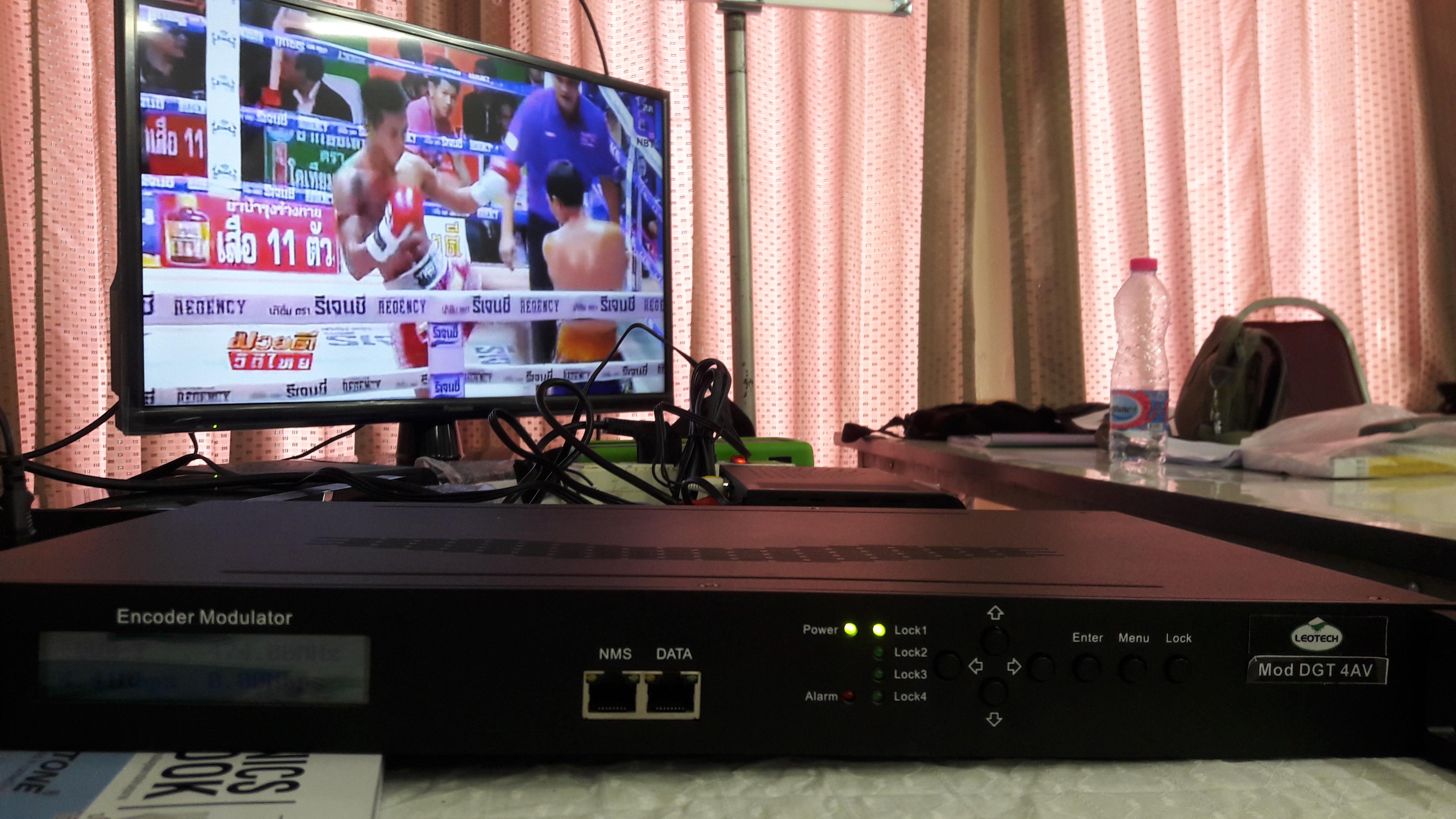 งานระบบดิจิตอลทีวีตึก หอพัก โรงแรม wutsat98
