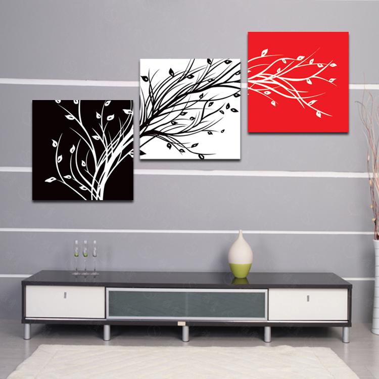 ของตกแต่งบ้านแนวๆ กิ่งไม้3สี Art-ii0