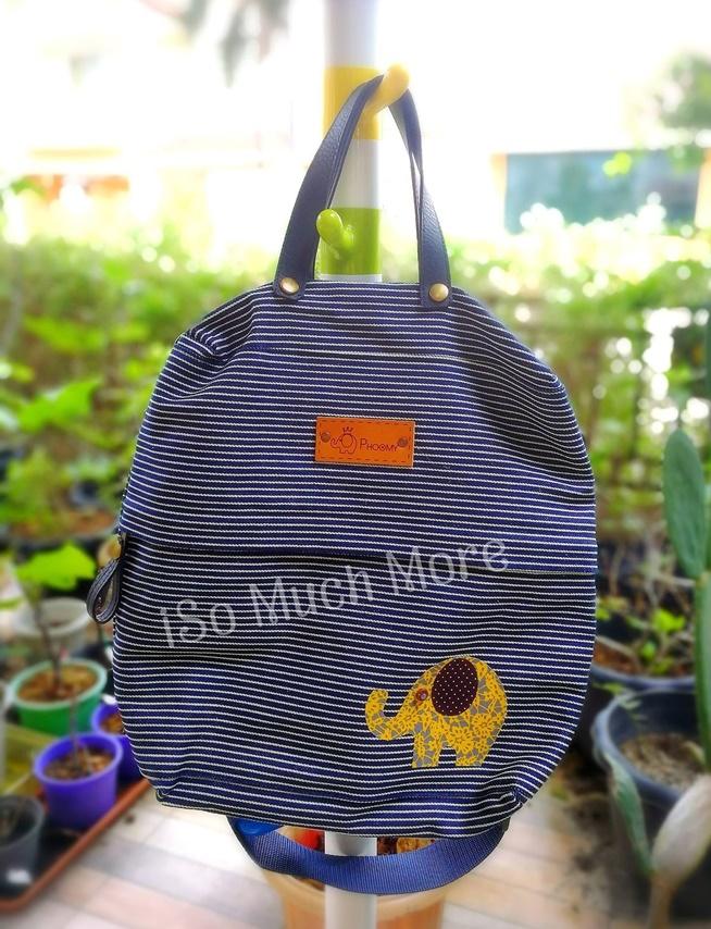 กระเป๋าเป้ ผ้าแคนวาส i001
