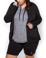 ( 0X หน้าอก 44-46 นิ้ว ) เสื้อคลุม สีดำ มีฮูด น่ารักมากๆคะ