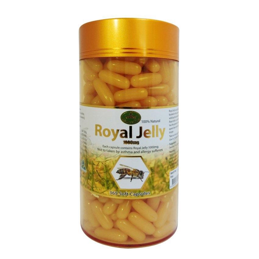 เนเจอร์คิงส์ ขนาดจริง 365 เม็ด ครองตลาดนมผึ้งมาเป็นเวลา สามปีเต็ม นมผึ้งตัวดัง ขายดีอันดับหนึ่งติดกันสามปีซ้อน NATURE KING PRIMIUM ROYAL JELLY 2% 1000 mg จากประเทศออสเตรเลีย เนเจอร์คิงส์ รอยัลเจลลี่ นมผึ้งแท้ 100% ผิวเด้ง เนียนใส เด็กลง ชลอวัย นมผึ้ง เนเจ